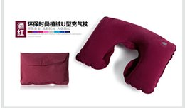 Wholesale travel pillow bundling eye mask and earplug best choice for travel use or home use colors set
