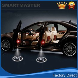 Wholesale wireless car door light logo projector welcome led lamp ghost shadow light for All the models