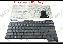 Wholesale New RU Laptop keyboard for Dell Latitude D620 D630 D531 D631 D820 D830 WITHOUT stick Pointer Black Russian Version CT024