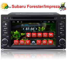 2 din car dvd player for Subaru Forester Impreza android car radio gps navigation TV 3G WIFI touch screen car audio