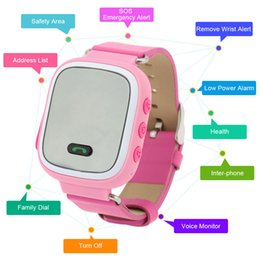 Wholesale GPS WIFI Smart Watch Intelligent Kids Tracking Device for children s watches Articulos Clock Gift
