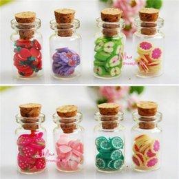 Wholesale Set Dollhouse Miniature accessories DIY Various Fruit Bottles Canned Send By Random