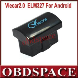 Wholesale Newest Car Scanner Tool Viecar OBD2 Bluetooth Scan Tool Viecar V2 as Same Function as Super Mini Elm327 Works on Android
