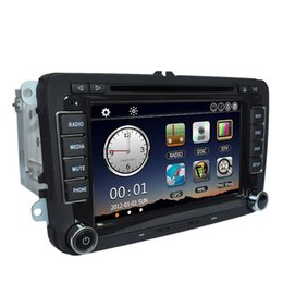 Wholesale Universal Car quot P HD Car DVD Radio Player GPS Navigation Bluetooth Din in Dash Car PC Stereo Head Unit for VW Map Card K2003