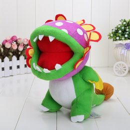 Wholesale New Super Mario Brothers Plush toy quot Dino Piranha toy