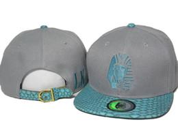 HOT SALE! Grey blue snakeskin lastking snapback Hiphop Hats Men Women's Causal Hats Dancing Visors Snapback Outdoor Sun cap top quality DDMY