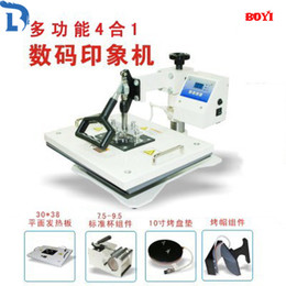 Wholesale Fashion DIY New Pro Advanced Multi Functional Machine Heat Press in1 Digital Heat Transfer Press Machine Combo Sublimation