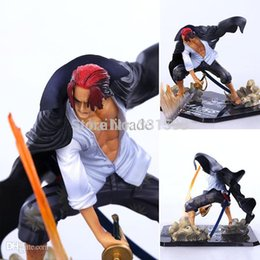 Wholesale anime figures ZERO One Piece Shanks Action Figure Anime Cartoon Collectible Model Toy CM