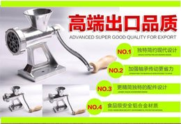 Wholesale Cast Iron Manual Meat Grinder Mincer Table Hand Crank Tool for Kitchen JT