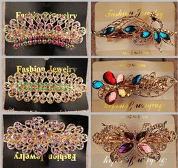 2015 Crystal Rhinestones Hairpin Hair clip hair barrette fashion Hair Clips Hair Jewelryclips hair claw clip hair accessories for women