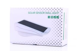 Wholesale Solar light outdoor stair step V W polysilicone solar panel mAh lithium battery automatic switch type solar lightings