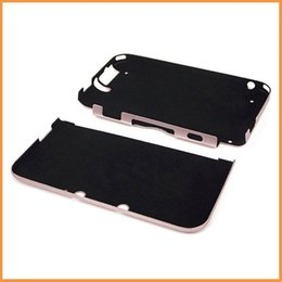 Wholesale-Free shipping game case for nintendo 3ds xl ll n3ds ll xl Pink Aluminum Box Hard Metal Cover Case