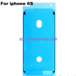 Wholesale Original Waterproof M Pre Cut Adhesive Glue Tape Sticker For iPhone S plus SP P Front Housing LCD Touch Screen Digitizer Frame iphone6S