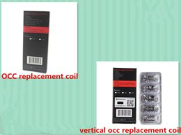 Wholesale kanger OCC replacement coil for kanger subtank mini kanger subtank plus atomizer vs kanger vertical occ coil for subox mini