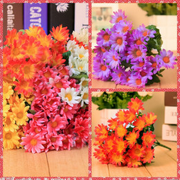 Wholesale Bulk Artificial Sunflowers For Valentine s Day Home Garden Hotel Supermarket Wedding Decoration Arch Suppliers Flowers Piece