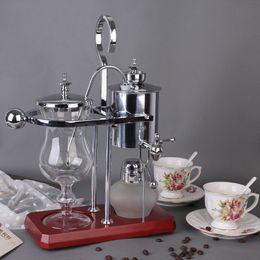 Royal Belgium coffee maker balancing coffee machine expresso coffee maker silver promotion