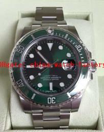 NUEVO RELOJ DE LUJO 116610LV cerámica verde HULK Box Nuevo Estilo Blanco Tarjetas de pulsera desde cerámica blanca reloj de pulsera proveedores
