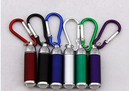 Hot sale Mini adjustable focus LED flashlight key chain lighting flashlight portable Torch Flashlight Light free shipping