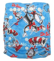 Wholesale New Design Printed Cartoon Cloth Diapers Baby Cloth Diapers Without Inserts Newborn Mini Cotton Cloth Diapers