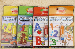 Wholesale Water Water W amazing graffiti children s sketchpad album baby toys car Animals Alphabet and Numbers for baby toddle kids