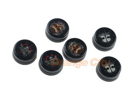 Newest Unique Skull Design Analog Thumb Stick Controller Grips Cap Cover For Sony PlayStation4 PS4 Joystick Accessories