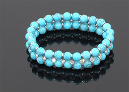 Bracelets Bule Turquoise Romantic Trendy Attend A Wedding Party Valentine's Day Date Gifts For A Wife