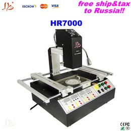 Wholesale Ship to Russia free tax three temperature zones hot air bga rework station LY HR7000 motherboard repair machine