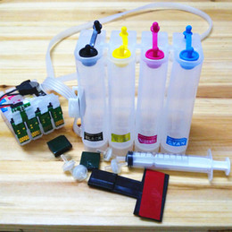 Wholesale Continuous ink supply system compatible for epson T2201 T220 cartrdge CISS KIT work with epson WF2630 printer