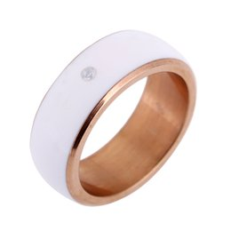 Wholesale IP68 Smart Ring Wearable Multifunction Dual Core Chip Ring Intelligent Door Lock Net File Share for NFC Android WP Smartphone