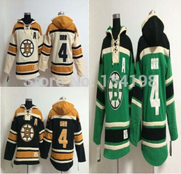 2016 New, 4 Bobby Orr Old Time Hockey Hoodie Jersey Bruins Sweatshirt Jerseys, Stitched sewn Numbering Lettering.
