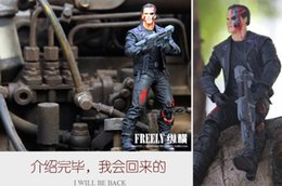 Wholesale Anime The Terminator T Arnold Schwarzenegger PVC Action Figure Collectible Model Toy quot cm in opp bag