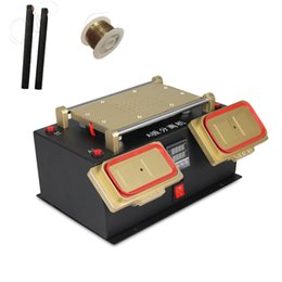 TBK 3 in 1 Multifunction Preheater Station + Bezel Middle Frame Separator Machine + Vacuum LCD Separator for Samsung LCD Refurbish