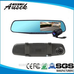 Wholesale 2015 Real Car Dvr Inch Degree Wide Angle Parking Mode Hd p Best Rearview Mirror Vehicle Traveling Data Recorder Quality Assured