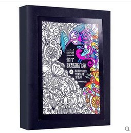 Wholesale The creative coloring book for adults Gown ups Relieve Stress Picture Book Painting Drawing Book Gift Relax Adult coloring books