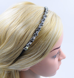 Girl Crystal Headband Silver with Rhinestone Women New Fashion High Quality Hair Accessories Hair Jewellery for Wholesale