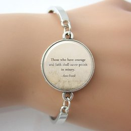 Wholesale Glass caboshon dome Bangle Personalized Jewelry For Poem Song Lyrics Or Text inspire Bracelet Letters best gift for friend
