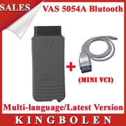 2015 Hottest Best Selling Super VAS 5054A For VW Professional Diagnostic Interface Plus MINIVCI Together DHL Free