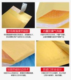 Descuento burbuja de papel kraft Venta al por mayor 400 * 500mm Top correo calidad Bolsas Kraft sobre de la burbuja de papel del arte poli exportación de la burbuja del envío libre Mailer