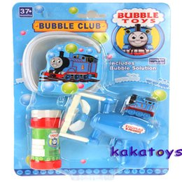Wholesale Children s Toys Electric bubble gun with water bubbles in summer beach automatic gun with locomotive electric toy trains bubble guns