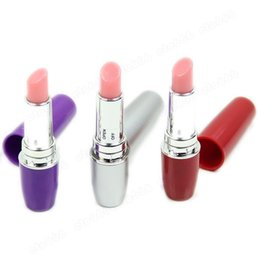 New Discreet Mini Bullet Vibrator Vibrating Lipsticks Sex Toys
