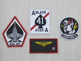 Wholesale US Navy VFA Black Ace Aviation BlackAces squadron F A F sets chapter badge
