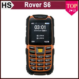 Wholesale Rugged Rover S6 IP67 Waterproof Phone quot Dual SIM MP Camera Long Standby Outdoor Shockproof Dustprof Flashlight Bluetooth TelePhone