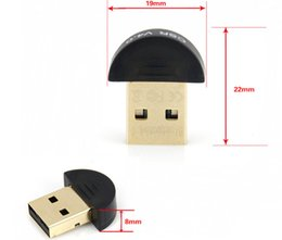 Wholesale High Quality Bluetooth USB CSR4 Dongle Adapter for PC LAPTOP WIN XP VISTA7 Well With Retail Package