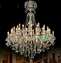 extra large crystal chandelier lighting Entryway high ceiling chandelier for hotel chandelier crystal drops