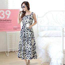 Wholesale-20 models! 2015 New Women Fashion Beach Dress Sleeveless Loose Cotton O-Neck Summer Style Dress Casual Plus Size Women Clothing