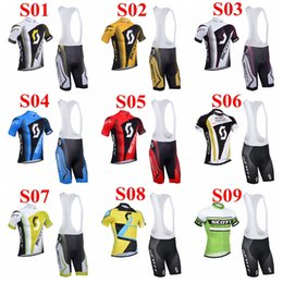 Wholesale 2014 SCOTT cycling wear Colors cycling jerseys many choices of cycling team jersey best quality cycling jersey and shorts short sleeve bib