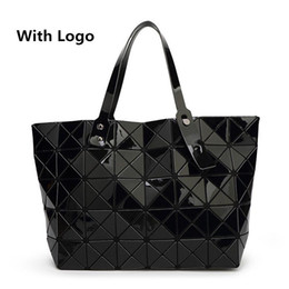 Wholesale 2016 New Bao bao women pearl bag Diamond Lattice Tote geometry Quilted shoulder bag sac bags handbags women famous brands