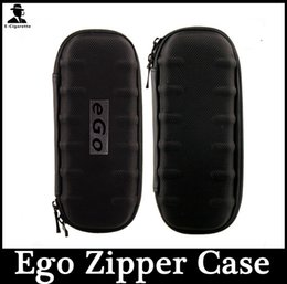 Commencer ego kit en Ligne-Plus récent Cigarette électronique Vape Sacs à main Small Size Zipper Case E Cig Noir Couleur Ego Case Start Kit