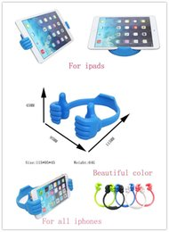 Wholesale Universal Thumbs Modeling Phone Stand Bracket Holder Mount for iPhone Cell phone