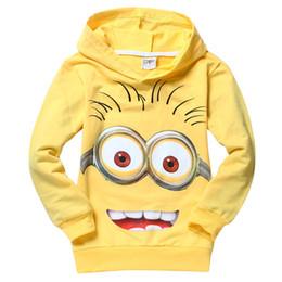 Wholesale New children t shirts despicable me boys minion t shirt girls nova T Shirt kids hoodies Autume Spring Tops Tees